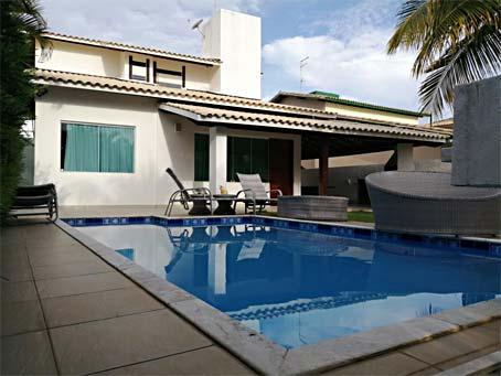 Casa de 5 Quartos em Condomínio à Beira-mar